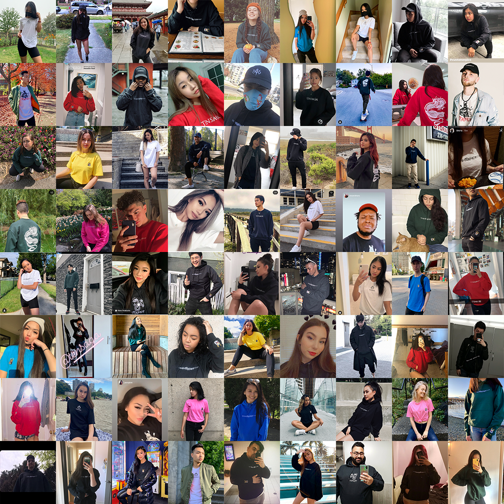 vancouver streetwear collage