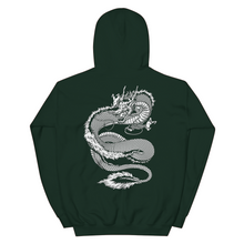 "Load image into Gallery viewer, ""Shenron"" Dragon Hoodie (Green)"