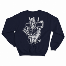 "Load image into Gallery viewer, ""Gundam"" Crewneck Sweater (Navy)"