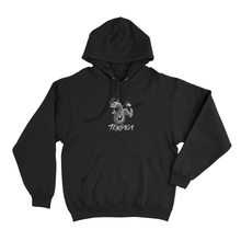 Load image into Gallery viewer, Tensaga Dragon Hoodie (Black)