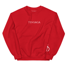 "Load image into Gallery viewer, ""Gundam"" Crewneck Sweater (Red)"