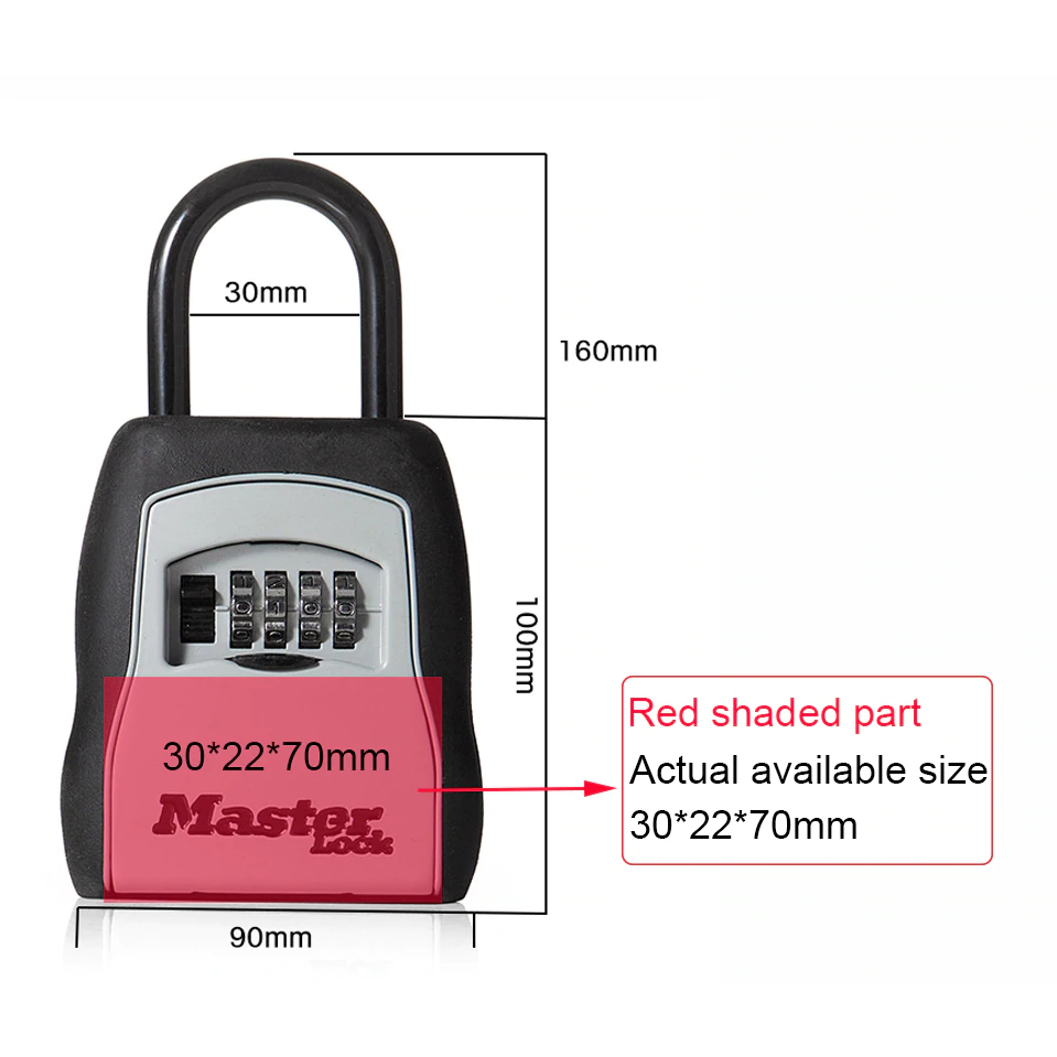 Master Lock Combination Key Box