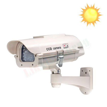 Fake CCTV Solar Powered Camera - SpyTechStop