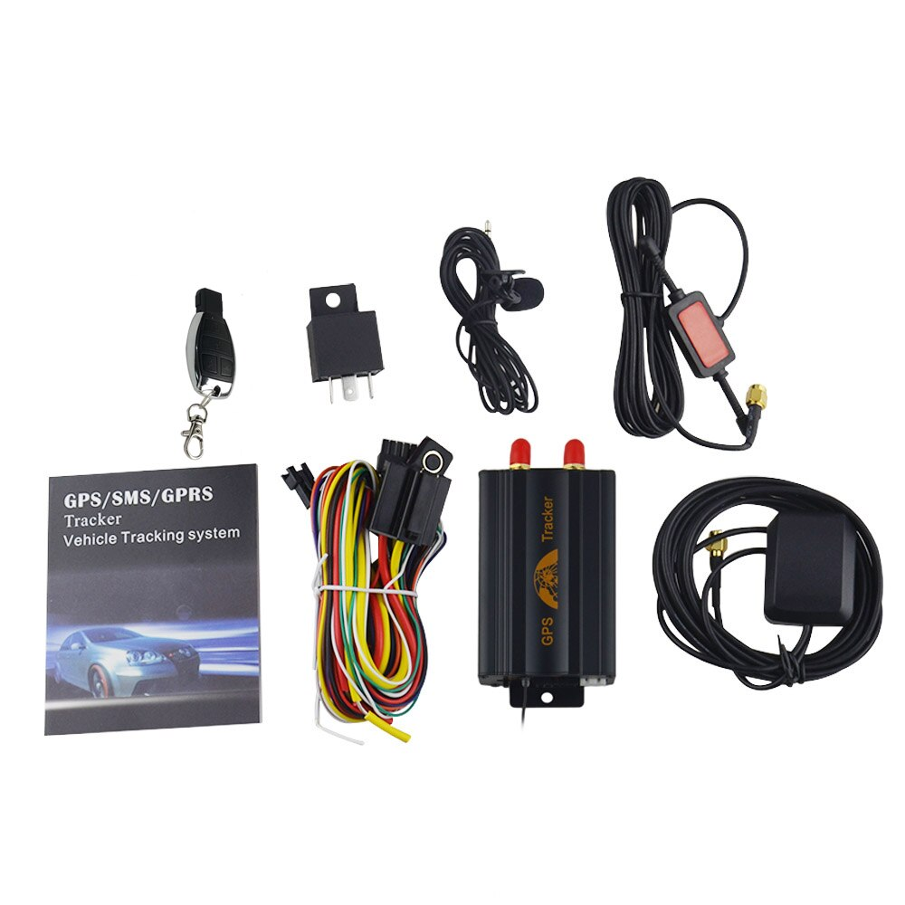 GPS Tracker Real Time Tracking w/ Remote