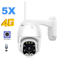 4G 1080P HD Security Outdoor CCTV Camera