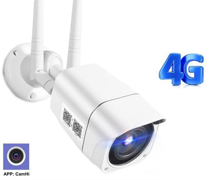 4G SIM Outdoor Security CCTV Bullet Camera