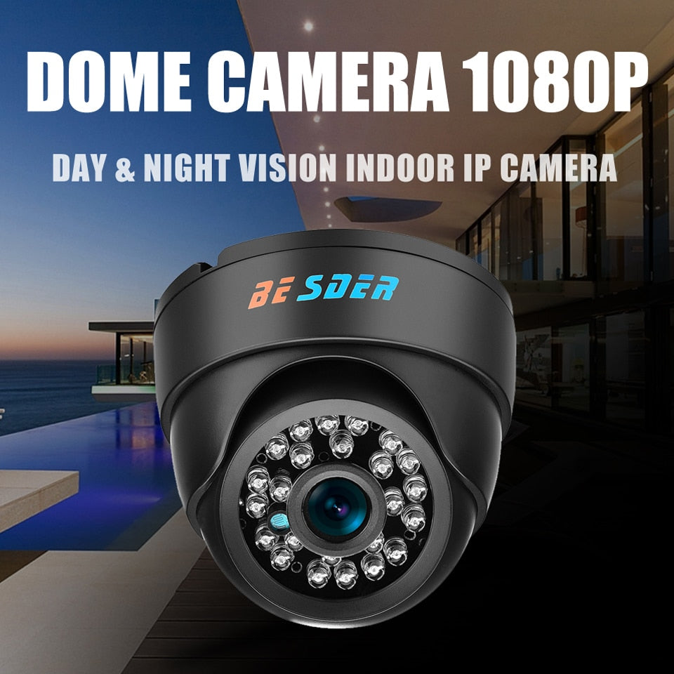 1080p Wide Angle Indoor Dome Camera - SpyTechStop