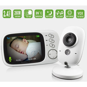 Wireless Video Baby Monitor components
