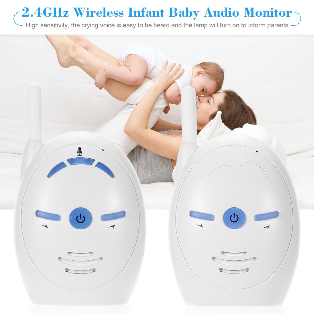 Wireless Two-way Audio Baby Monitor