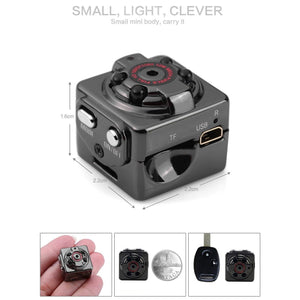 SQ8 HD 1080P Mini Camera - Spy Solutions
