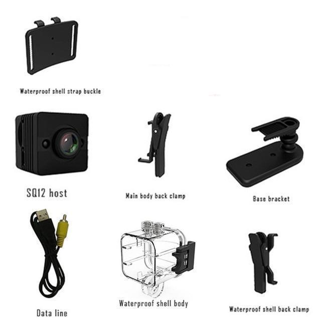 SS 1080P HD Mini Waterproof Camera - SpyTechStop