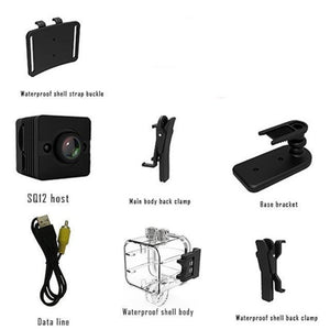 Mini Waterproof Camera motion detection
