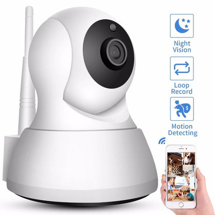 SS Wireless IP Camera (Two Way Audio, Night Vision, Wifi, HD) - SpyTechStop