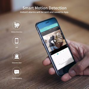 SS Wireless IP Camera motion detection
