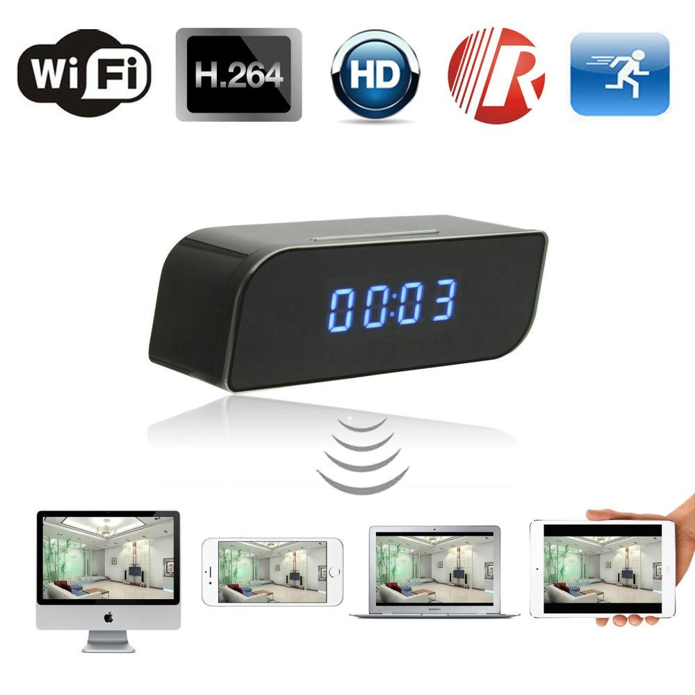 1080P Wifi Camera Mini Clock