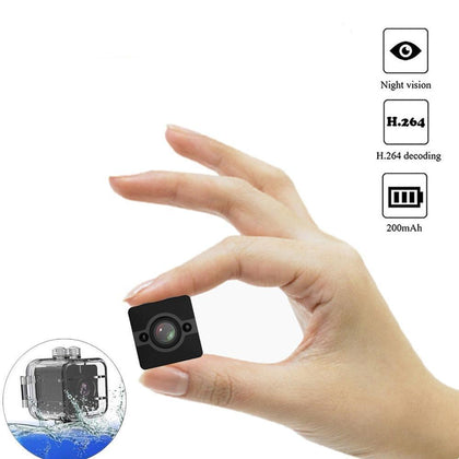 Mini Waterproof Camera features