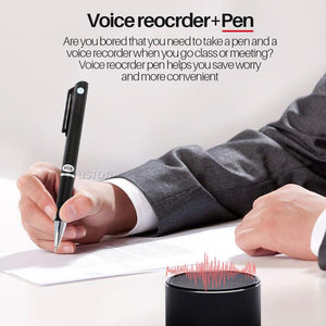 8GB Voice Recorder Pen with MP3 Function - Spy Solutions