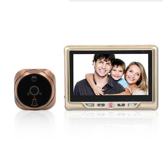 "4.3"" LCD Color Peephole Camera"
