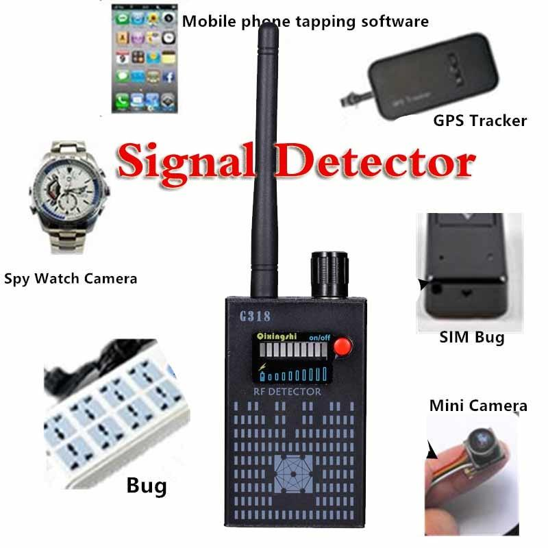 8000MHz Wireless Signal Detector