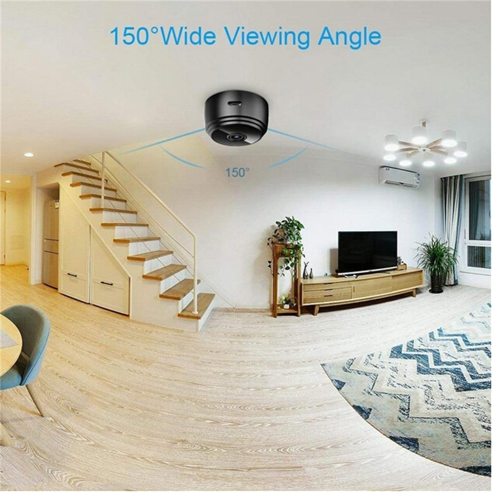 1080p HD Mini WiFi Camera (Motion Detect, Night Vision)