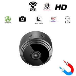 Mini WiFi 1080p HD Camera (Motion Detect, Night Vision) - Spy Solutions