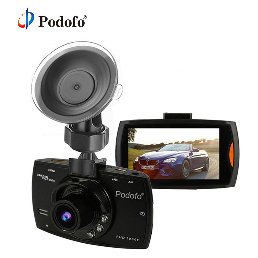 Podofo A2 Car Dashcam (DVR, HD 1080P, 140 Degree, Night Vision, G-Sensor) - SpyTechStop