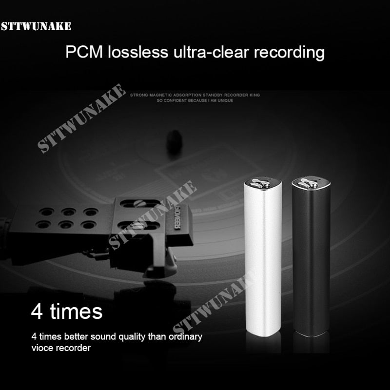 Hidden Voice Recorder 600 Hours - SpyTechStop