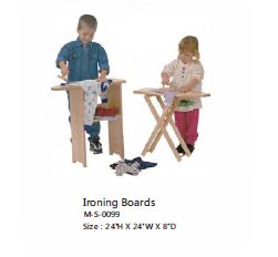Stationary Ironing Board