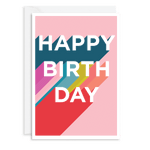 Happy Birthday Card - Seaton Gifts