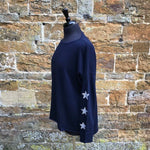 Cashmere and Merino Jumper - 3 Stars on each arm and one on the back.