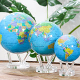 "4.5"" Mova Globe Blue Political  - The World's Most Advanced Globe"
