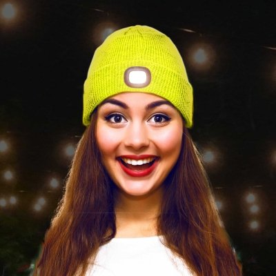 """Beamie"" -  Sports LED Beanie Hat"
