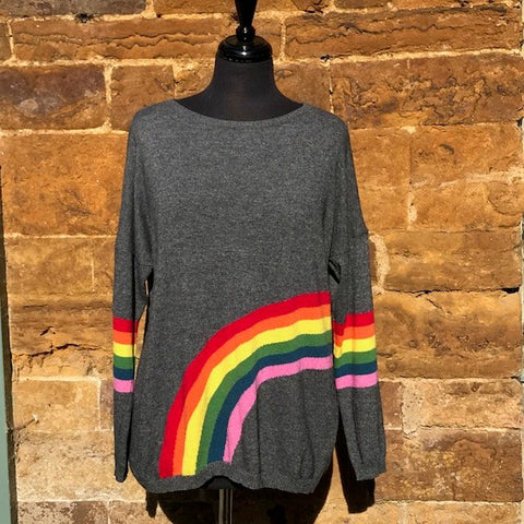 Cashmere and Wool Rainbow Jumpers