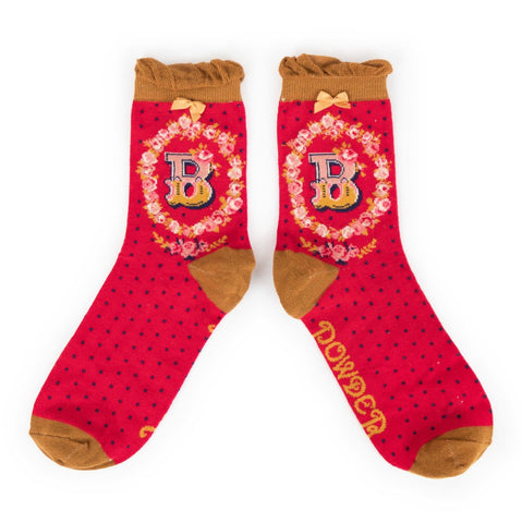 "Alphabet Socks - ""B"" - Seaton Gifts"