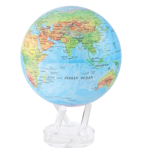"8.5"""" Mova Globe Blue Relief  (This product is out of stock but you can still order now and it will be sent as soon as it becomes available)"