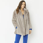 Faux Fur Short Coat - Seaton Gifts