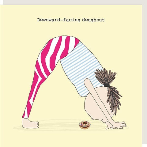 Downward Doughnut Card - Seaton Gifts