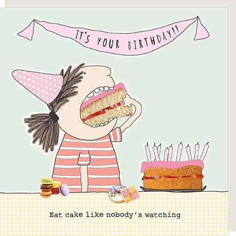 Eat Cake Card - Seaton Gifts