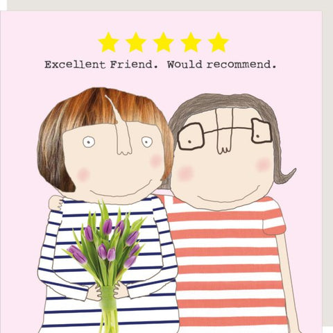 Five Star Friend Card - Seaton Gifts