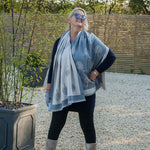 Reversible Mulberry Tree Scarf/Wrap