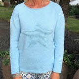 Embossed Star Jumper