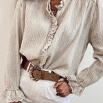 Grace - Cheesecloth Blouse/Shirt