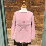 Embossed Star Jumper - Seaton Gifts