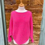 Ora - Ribbed Batwing Jumper