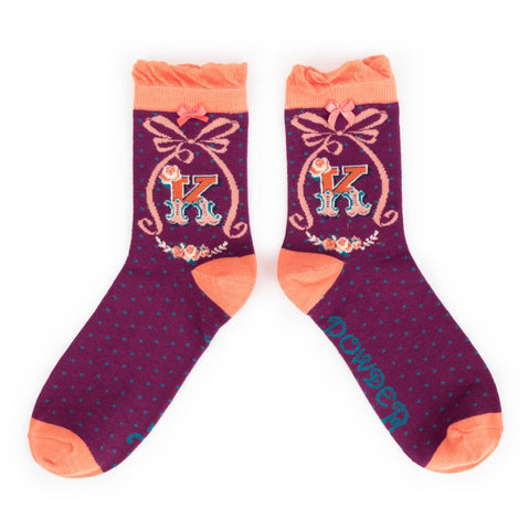 "Alphabet Socks - ""K"" - Seaton Gifts"