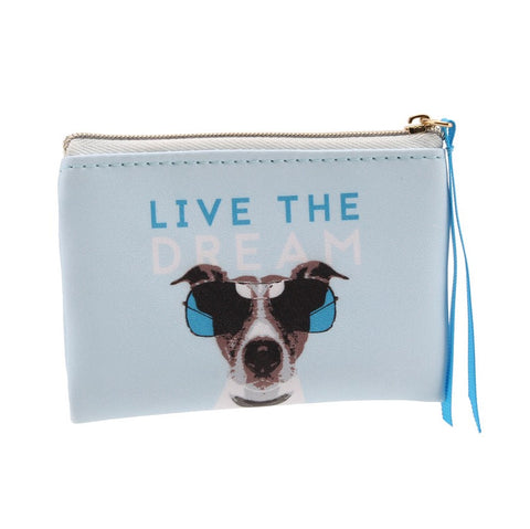 """Live the Dream"" Coin Purse - Seaton Gifts"