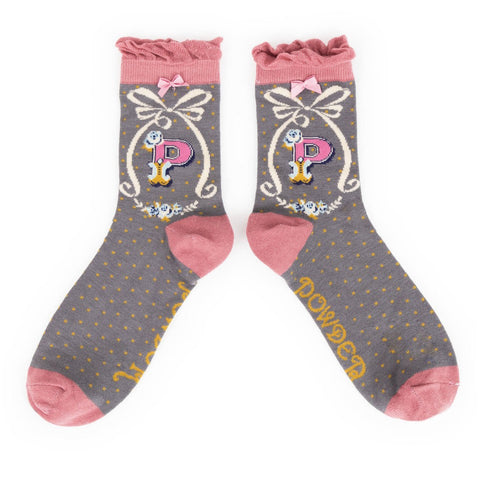 "Alphabet Socks - ""P"" - Seaton Gifts"