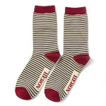 Mr Heron Bamboo Socks Gift Set - Mini Stripes