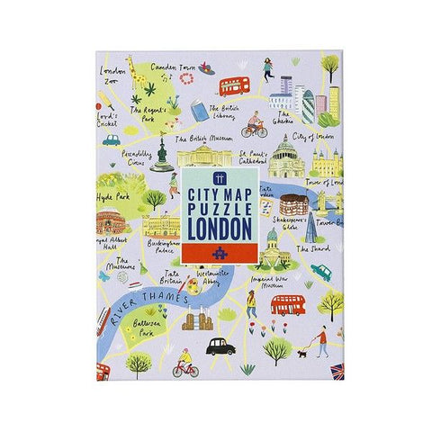 City Map Puzzle London - Seaton Gifts