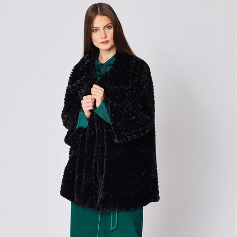 Faux Fur Teddy Coat - Seaton Gifts